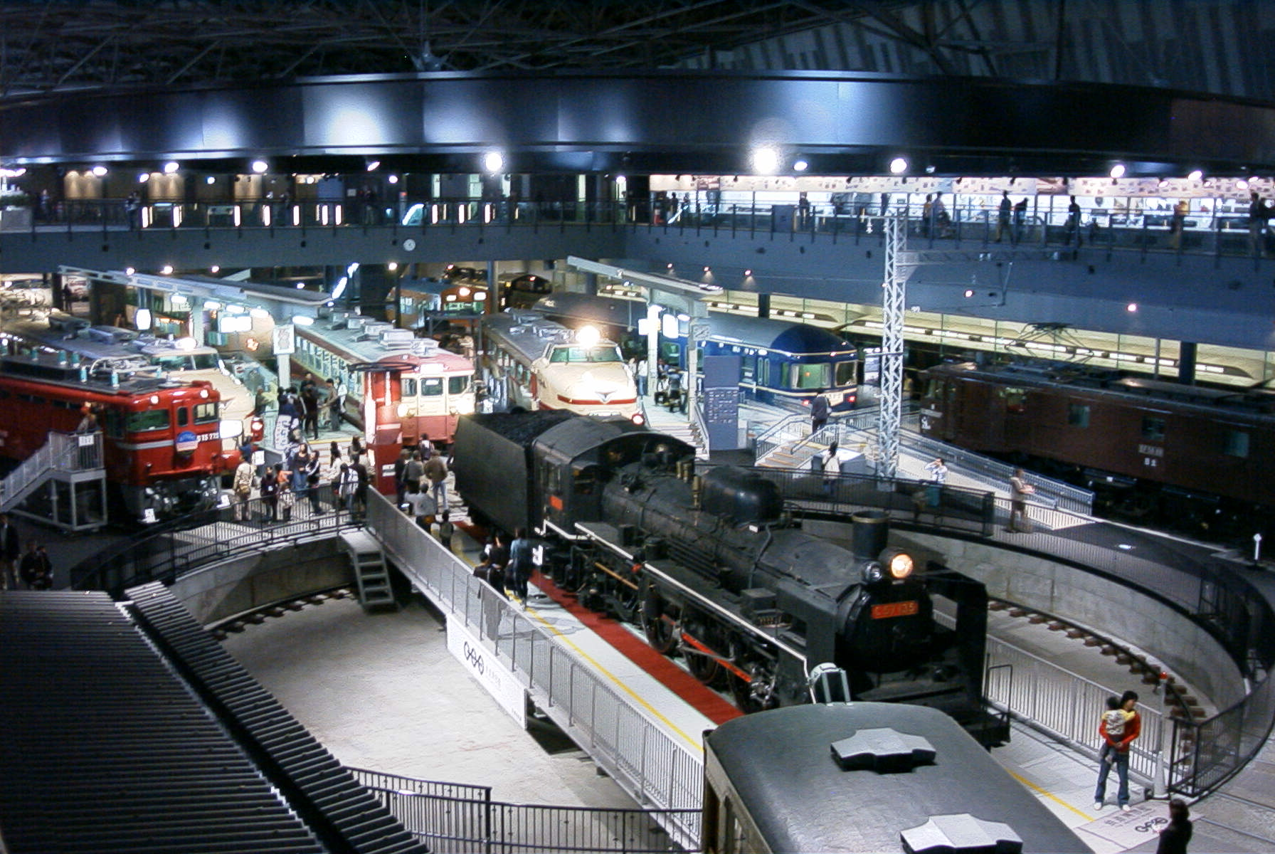 Japanese Railway Museums.