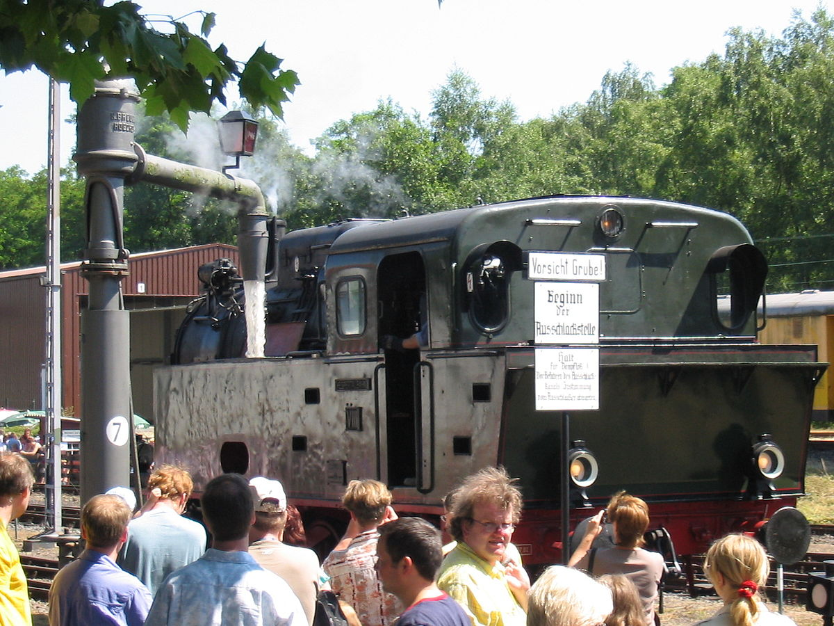 List of railway museums.