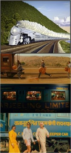 """India styled by Wes Anderson in """"Darjeeling Limited""""."""