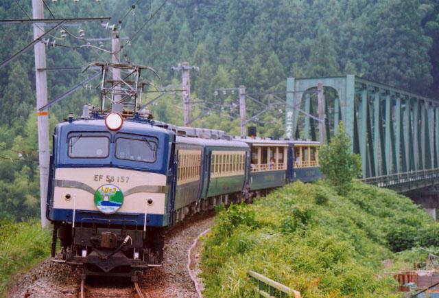 Photo of JR line in Japan.