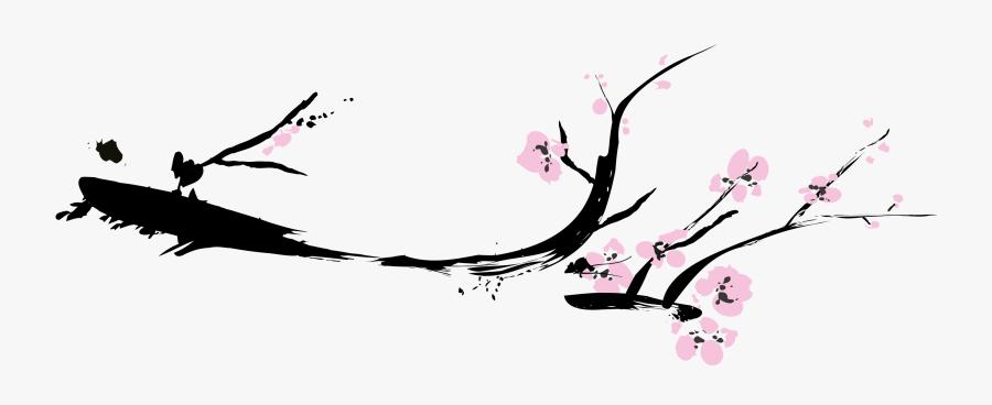 Transparent Sakura Branch Png.
