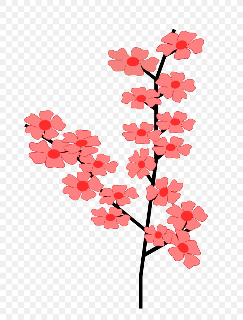 Cherry Blossom Branch Clip Art, PNG, 763x1080px, Cherry.