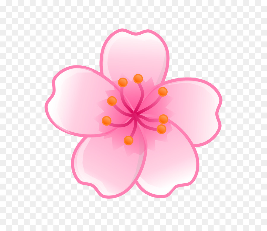Cherry Blossom Background clipart.