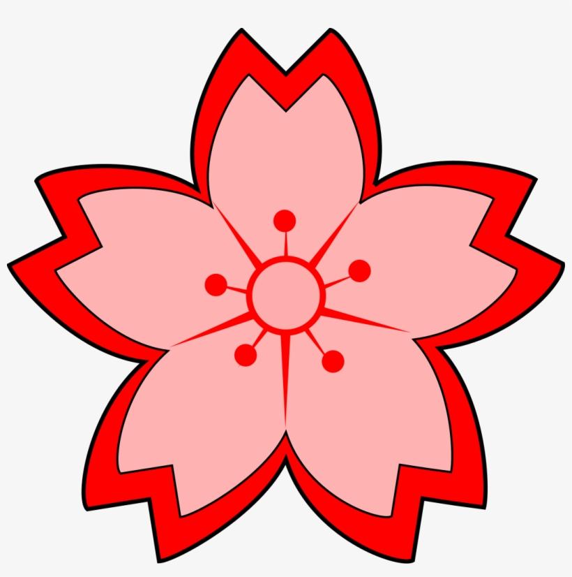 Sakura Flower Clipart.
