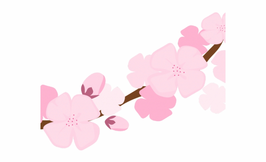 Blossom Clipart Sakura Petal.