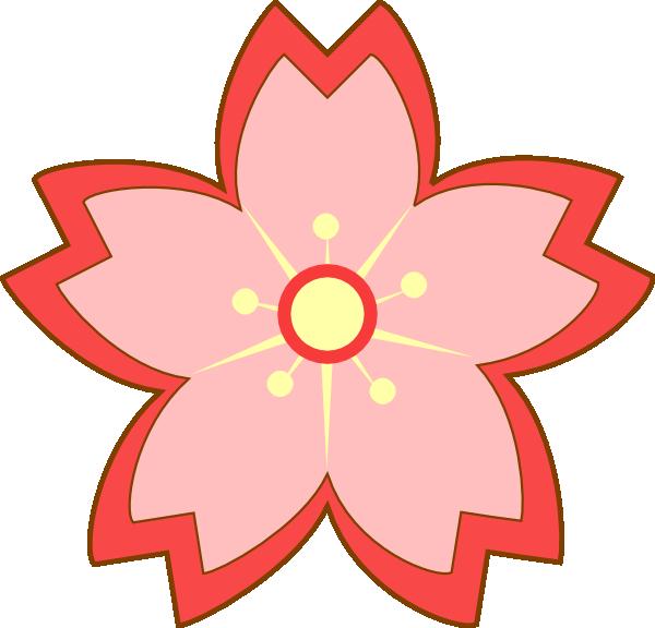 Sakura Blossom Clip Art at Clker.com.