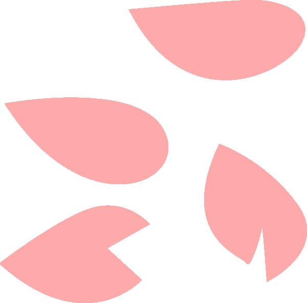 Sakura Petal Pink Clip Art at Clker.com.