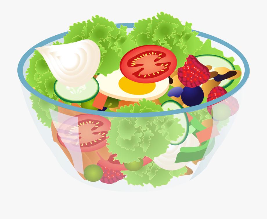 Salad Clipart Vegetable Clip Art.