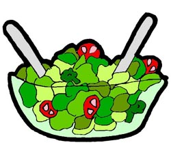 Salad Bar Clipart.