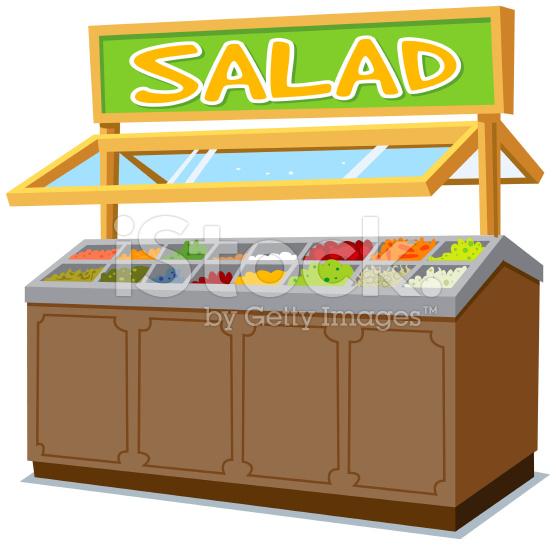 Salad bar clipart.
