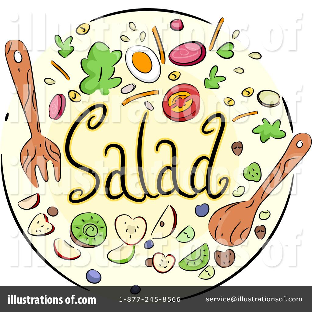 Salad bar clip art.
