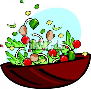Salad Clip Art Free.