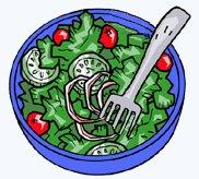 Free Salad Clipart.