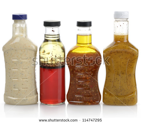 Salad Dressing Stock Photos, Royalty.