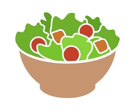 Caesar Salad Clipart.