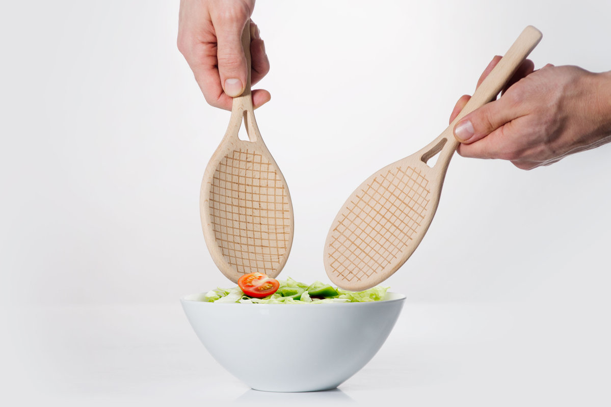 Salad Servers : Game set and match..