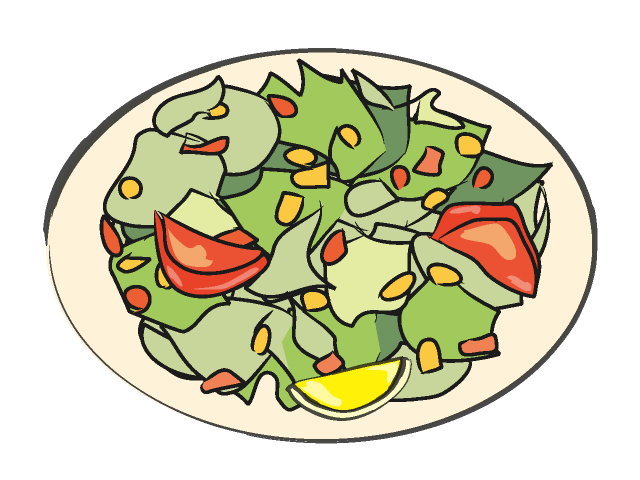 Salad clipart saladclipart vegetable clip art 3.