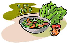 Salads Clipart.