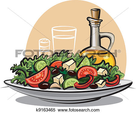 Salad Clip Art Illustrations. 16,932 salad clipart EPS vector.