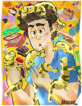 """Salamander Dad"""" Posters by ArSchmar."""