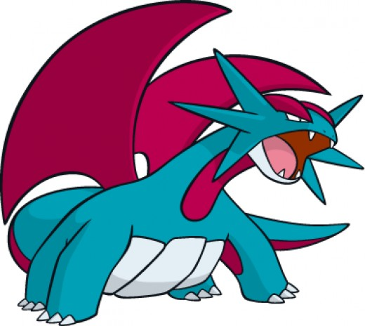 Using Salamence as a Competitive Pokemon in Pokemon X and Y.