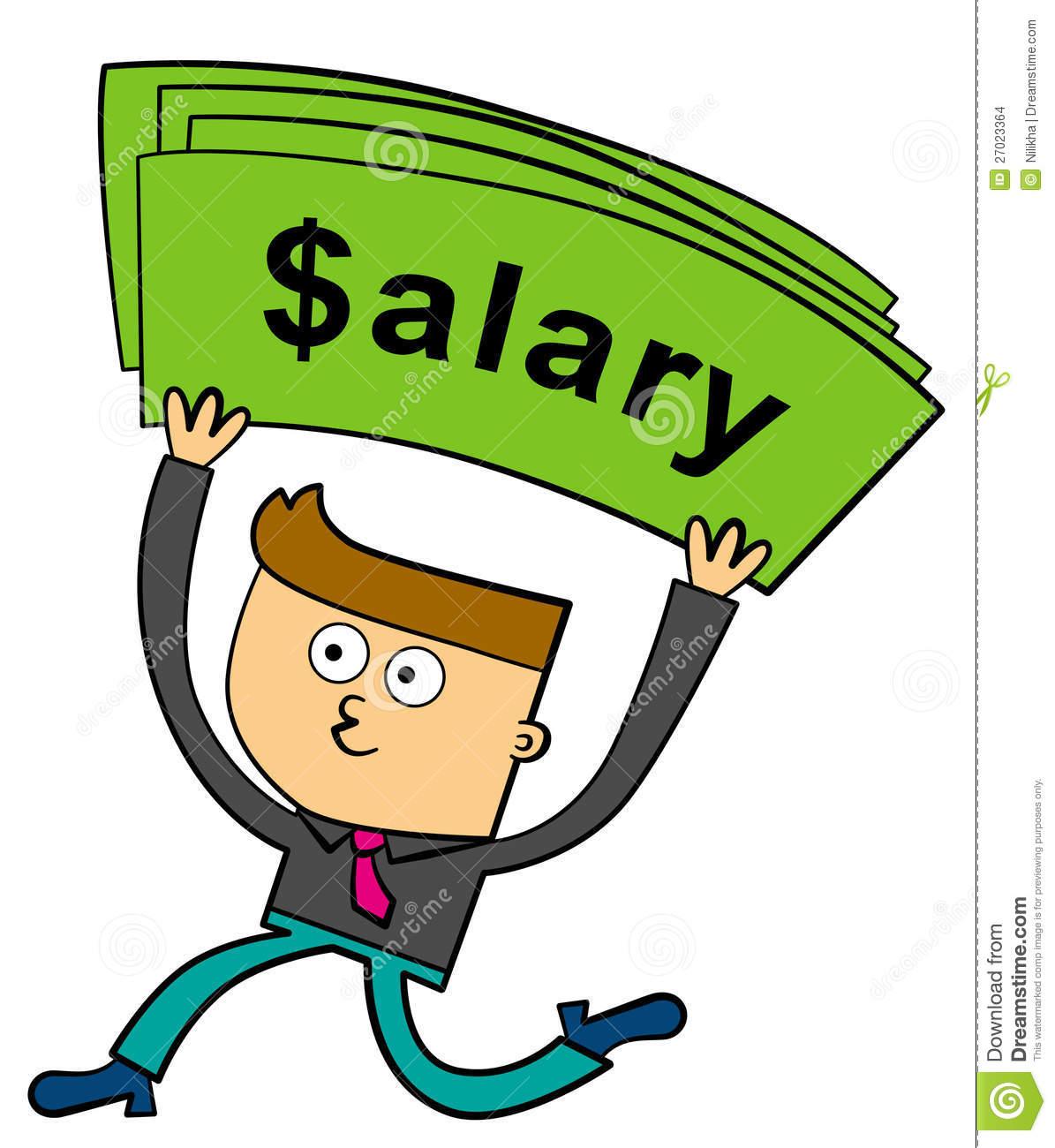 Salary Clip Art.