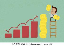 Salary Clip Art and Illustration. 7,035 salary clipart vector EPS.