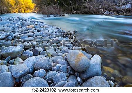 Stock Photo of Salazar river, Foz de Arbay·n, Salazar river.