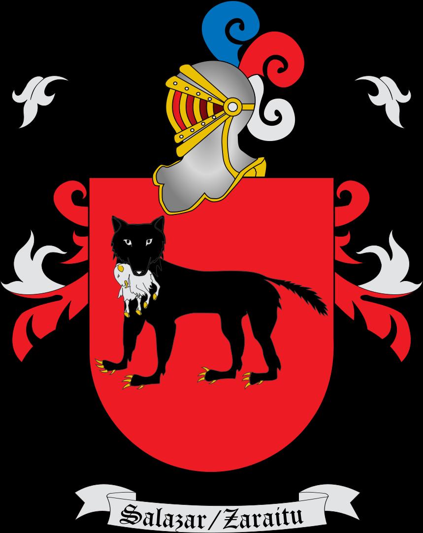 File:Escudo de Salazar con casco.svg.