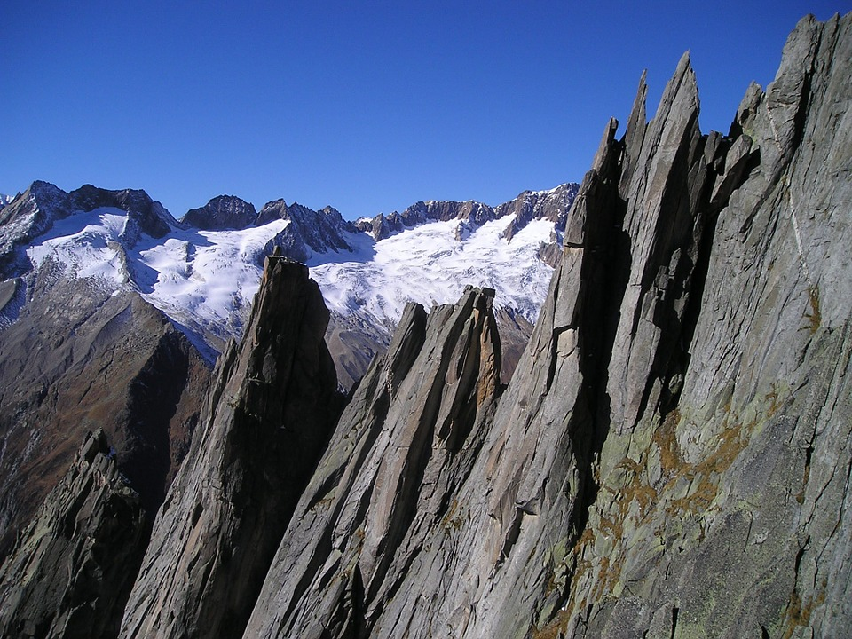 Free photo: Mountains, West Ridge, Salbit.
