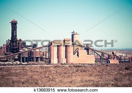 Stock Image of saldanha steel works k13683915.