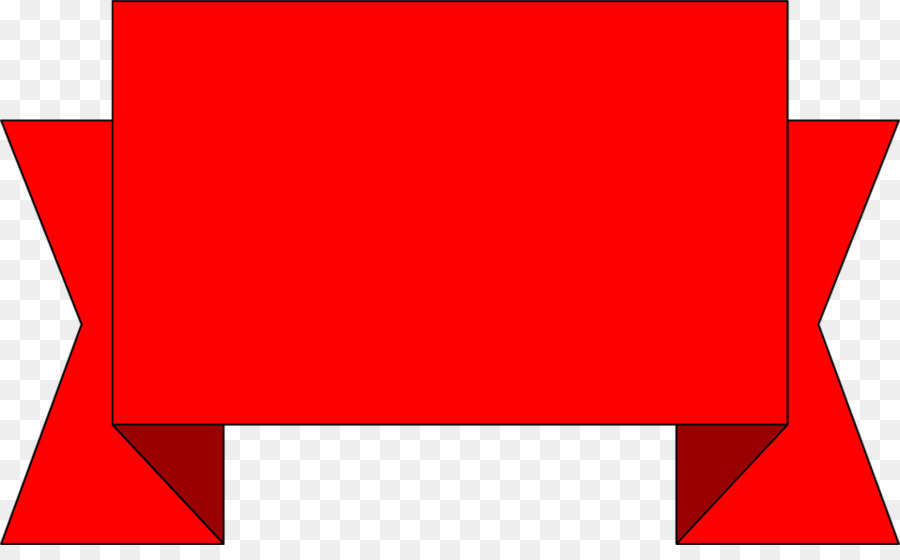 Red Banner clipart.