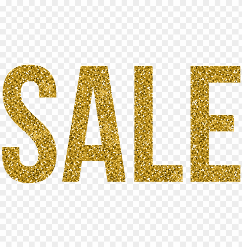 Download sale gold deco text clipart png photo.