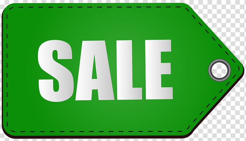 Sale , Sales Price Icon, Green Sale Tag transparent.