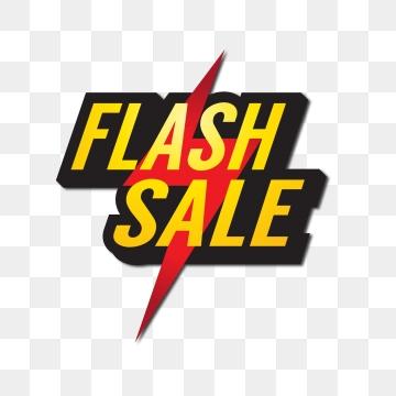 Flash Sale PNG Images.