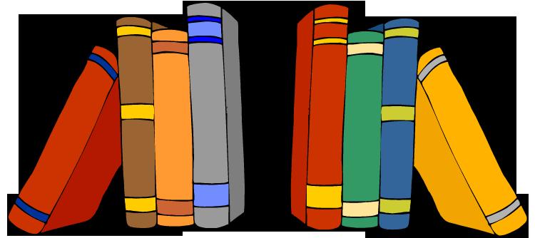 Clip Art Book Shelf Clipart.