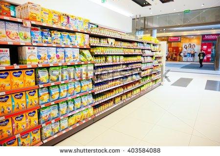 March food shelf clipart.