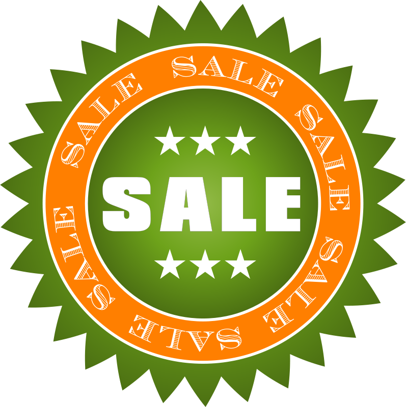 Free Clipart: Sale Sticker.