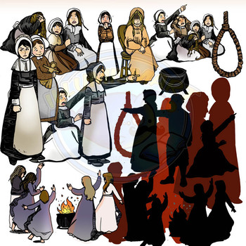 Salem Witch Trials Clip.