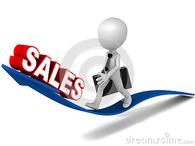 Sales increase clipart.