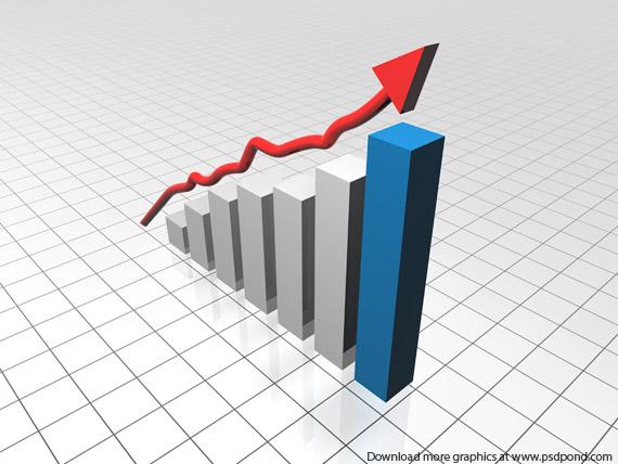 Sales Graph Clipart.