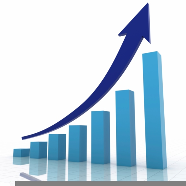 Clipart Sales Growth.