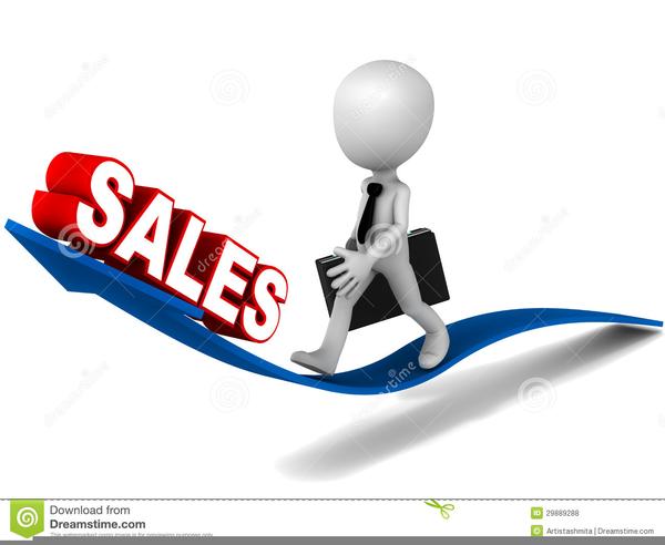 Salesperson Clip Art.