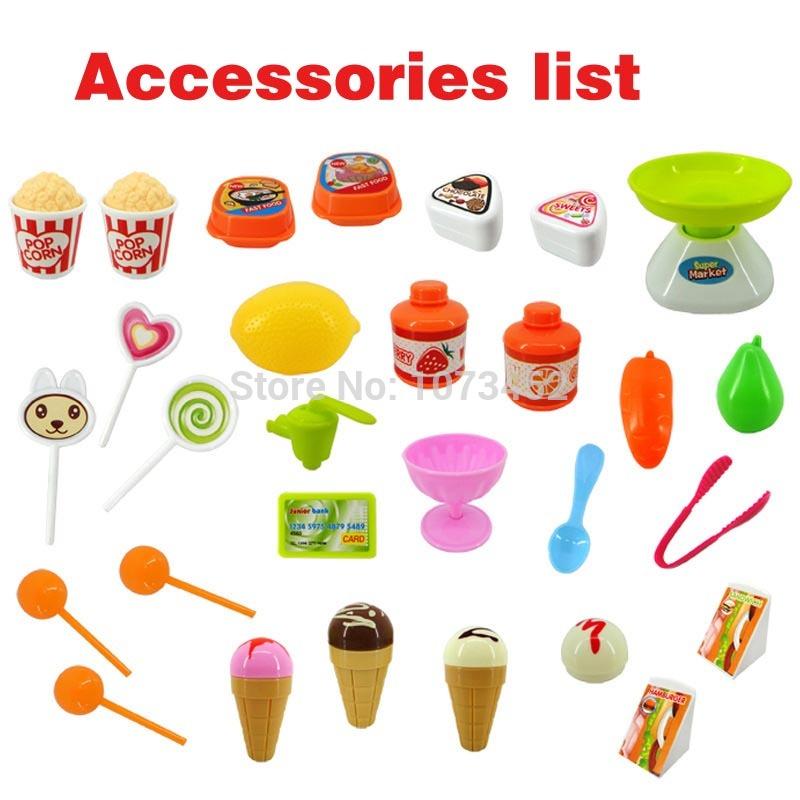Aliexpress.com : Buy 34pcs Mini sweet super market simulation.