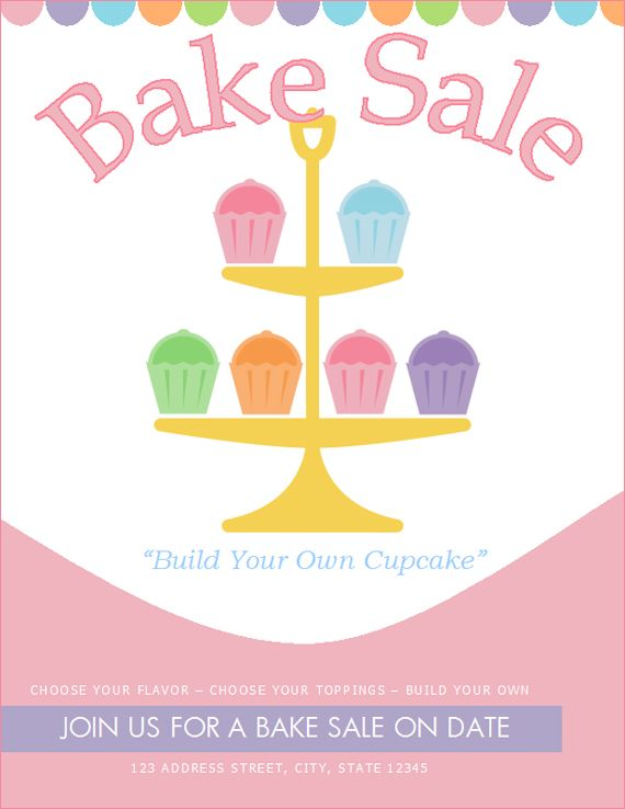 17 Best ideas about Bake Sale Flyer on Pinterest.