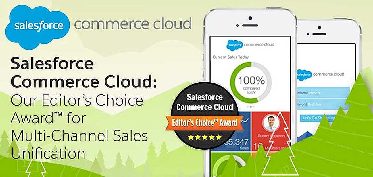 Salesforce Commerce Cloud: Our Editor\'s Choice Award™ for.