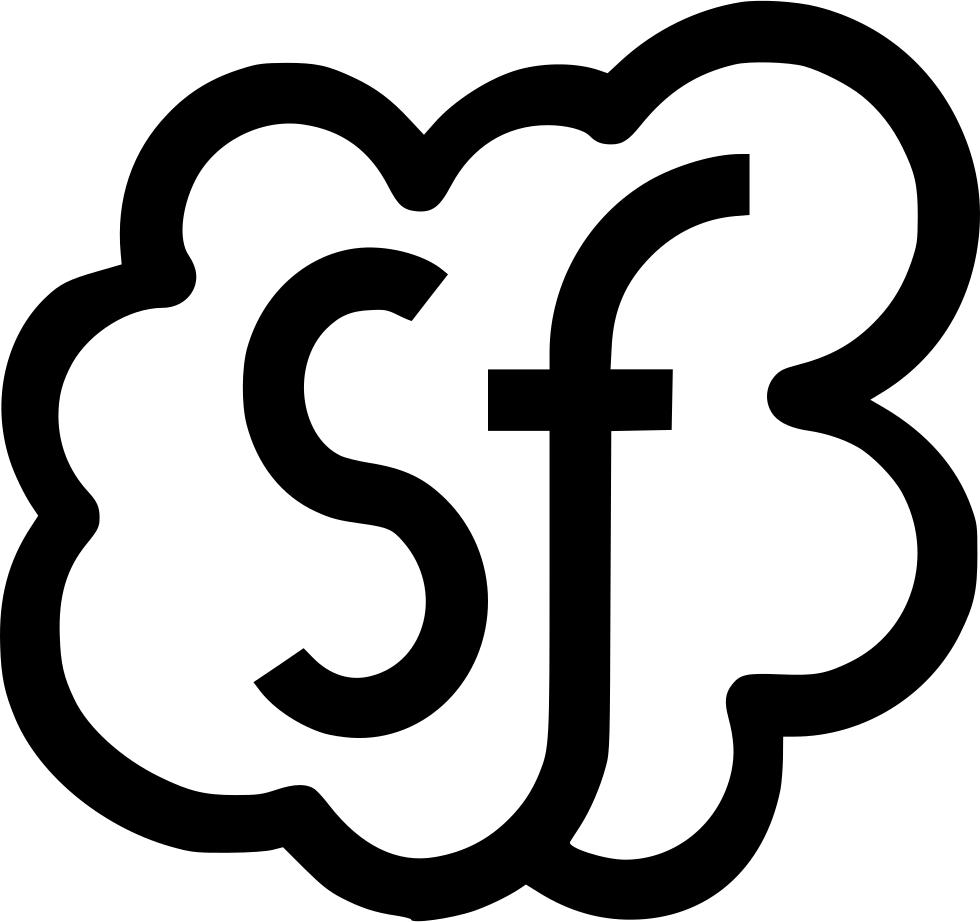 Salesforce Server Cloud Computing Company Business Svg Png.