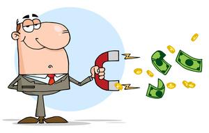 Salesman Clipart Image.