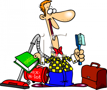 Salesman clipart #9
