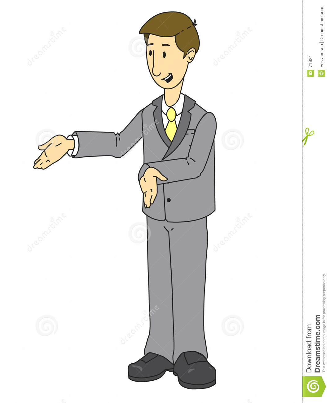 Sales Person Stock Image.
